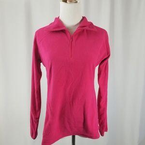 Columbia Long Sleeve Half Zip Fleece Sweater